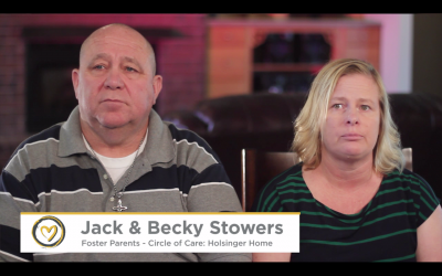 Holsinger Home, Foster Parents – Jack & Becky